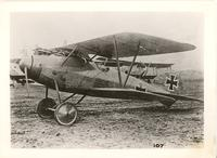 Albatros D.V4 fighter aircraft