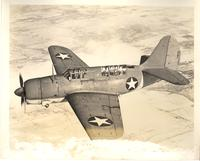 Curtiss SB2C-1 Helldiver carrier-based dive bomber