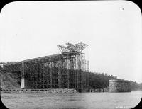 Construction of Quebec Bridge