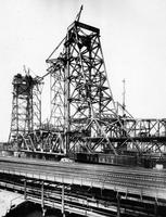 Hackensack River Bridge at Marion, N.J. during construction