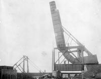 Construction of Elizabeth River Bridge at Elizabeth N.J.