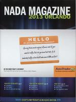 NADA Convention Magazine, 2013 Orlando