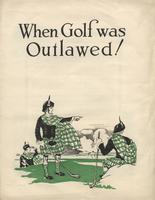 When Golf was Outlawed!