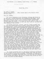 Don Hunt to John J. Raskob, 1935-03-09