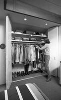 Closet in the International Lead Zinc Research Organization house