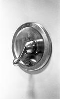Bath or shower handle in the International Lead Zinc Research Organization house