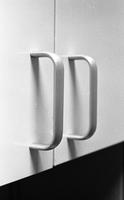 Cabinet handles in the International Lead Zinc Research Organization house