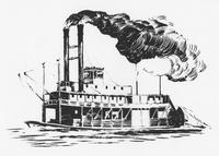 River steamboat