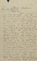 Correspondence, H.B. Hanmore to Franklin B. Gowen, 1875-03-17