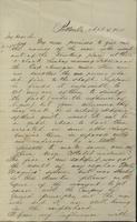 Correspondence, H.B. Hanmore to Franklin B. Gowen, 1875-04-04