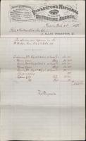 Service and expense account for Molly Maguires operations from 1878-02-03 to 1878-03-02