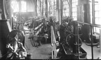 Machine shop, bolt room, interior view, at Juniata, Pa., shops