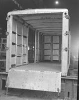 Container TR 51 alum, inside under construction