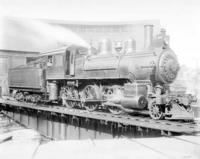 F1a steam engine #370, right side angular at front