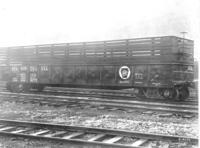 G22 car #801262 for hauling scrap iron