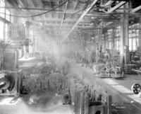 Machine shop interior