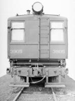 A6 diesel engine #3905, rear view