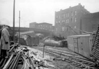 Freight wreck at 17th Street bridge