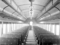 P70 coach #3642, interior view
