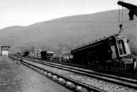 Wreck near Longfellow, Pa., general view