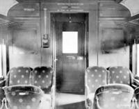 P70 coach #3615, interior view