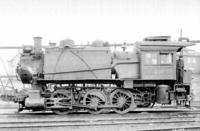 B8a steam engine #436, left side view