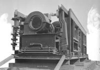 O1c electric engine, view of deck, end view
