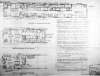 Government standard floor plans,  railway mail cars