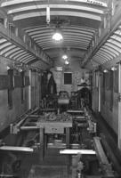 Air brake instruction car, old, interior view