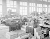 Machine shop 2, milling machine, for bearings in engine frames, at Juniata, Pa.