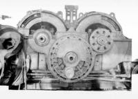 L5 electric engine, assembly of motors showing flexible gear