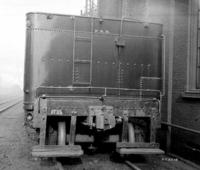 Steam engine #1735, rear view of tender