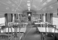 Dining car #4448, interior view