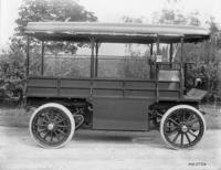 Machine shop, 3-ton electric truck #2, side view
