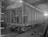 H33 hopper cars, under construction