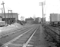 Branch railroad crossing at 19th street, accident to William H. Lang