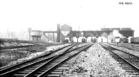Thorndale, Pa. coaling station, looking west