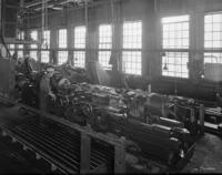Niles machine tools in the car shops