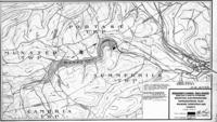 Reservoir and vicinity at Wilmore, Pa., mountain electric project, topographical plan