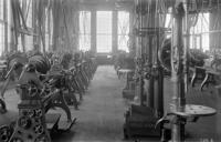 Machine shops, brass room, interior view, at Juniata, Pa., shops