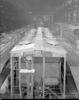 H34a hopper car, under construction
