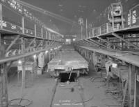 F30e flat car, under construction, shop #2