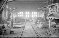 Boiler shops, interior view, at Juniata, Pa., shops