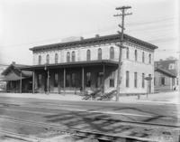 Station, front view at Columbia, Pa.