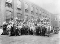 Group of machine shop employees in 1895