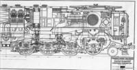 FF1 electric engine, longitudinal cross section