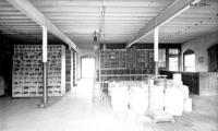 Store house, lower floor, interior view, at Juniata, Pa., shops