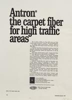 Antron : the Carpet Fiber for High Traffic Areas