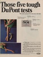 Those Five Tough DuPont Tests : DuPont 501