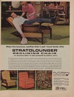 Stratolounger Reclining Chair ... Its Decorator Fabric Is Stain - Protected by DuPont Zepel